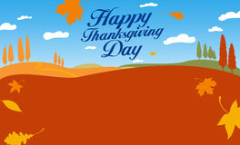 Illustration for thanksgiving day. Stock Images
