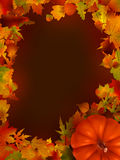 Illustration of thanksgiving day background. EPS 8 Royalty Free Stock Photos