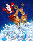 Illustration on the theme of Christmas Royalty Free Stock Photography