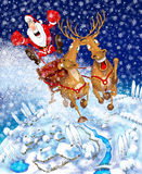 Illustration on the theme of Christmas Royalty Free Stock Photo
