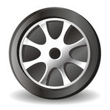 Illustration of tire. Icon created by Stock Image