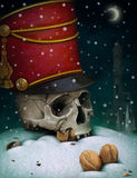 Illustration to fairy tale The Nutcracker Stock Photography