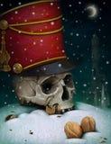 Illustration to fairy tale The Nutcracker stock illustration
