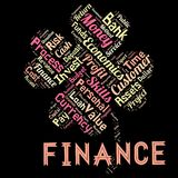 Words cloud of the FINANCE. Illustration to Words cloud of the FINANCE as background Royalty Free Stock Images