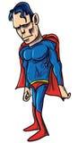 Illustration of a tough powerful superhero Royalty Free Stock Photo