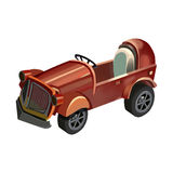 Illustration: Toy Car. Royalty Free Stock Photos