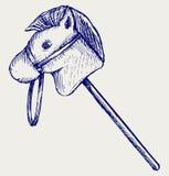 Illustration toy horse Royalty Free Stock Photo