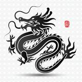 Chinese Dragon vector Royalty Free Stock Photo