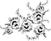 Illustration traditionnelle de fleur Photos stock