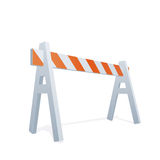 Illustration Of Traffic Sawhorse Stock Photos