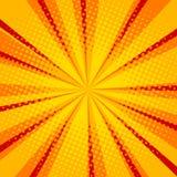 Illustration tramée jaune de vecteur de fond Images libres de droits