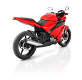 Illustration Transportation Sport Motorbike Racing Concept Stock Image