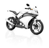 Illustration Transportation Sport Motorbike Racing Concept Stock Photo