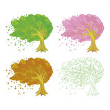 Illustration of the tree Royalty Free Stock Photos