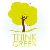 Illustration of tree Royalty Free Stock Photography