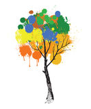 Illustration of tree Royalty Free Stock Photography