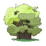 Illustration, tree vector illustration