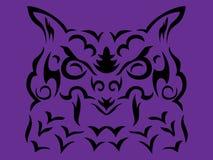 Illustration tribale de vecteur de hibou illustration de vecteur