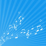 Illustration of tunes. Vector Stock Photography