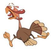 Illustration of turkey cartoon Stock Photo