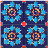 Illustration of a Turkish Tile Royalty Free Stock Image