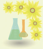 Sunflower-biofuel Stock Photos