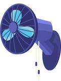 Illustration un ventilateur Image libre de droits