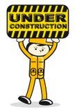 Illustration of under construction sign Stock Photo
