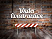 Room Under Construction Stock Image