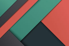 Illustration of unusual modern material design Royalty Free Stock Image