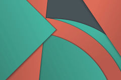 Illustration of unusual modern material design Stock Photo