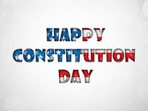 Illustration of USA Constitution Day Background Stock Images