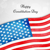 Illustration of USA Constitution Day Background Royalty Free Stock Images