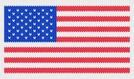 Illustration of the USA flag Royalty Free Stock Photography