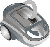 Illustration of a vacuum cleaner Royalty Free Stock Photography