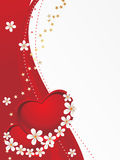 Illustration for valentine day Stock Images