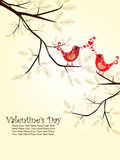 Illustration for valentine day Stock Photography