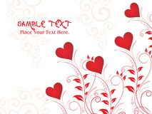 Illustration for valentine day Stock Images