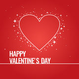 Illustration for Valentine's day. Valentine's day. February 14. Original and conceptual poster with a love message. Vector illustration Royalty Free Stock Photography