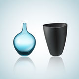 Illustration of vase and bowl Royalty Free Stock Photography