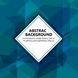 The  illustration & x22;Vector abstract background. Royalty Free Stock Photo