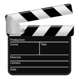 Illustration Vector Graphic Clapperboard Stock Image