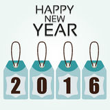 Illustration Vector Graphic Happy New Year Stock Image