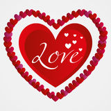 Illustration Vector Graphic Hearts, Love and Romantic Stock Photos
