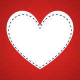 Illustration Vector Graphic Hearts, Love and Romantic Royalty Free Stock Images
