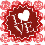 Illustration Vector Graphic Hearts, Love and Romantic Royalty Free Stock Image