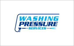 Free Illustration Vector Graphic Of Pressure Power Wash Spray Logo Design Template-26 Royalty Free Stock Images - 219252789