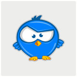 Illustration vector of icon twitter bird Stock Images