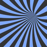 Vector Spiral Tunnel Illusion. Vortex Motion Striped Tunnel Background Royalty Free Stock Photos