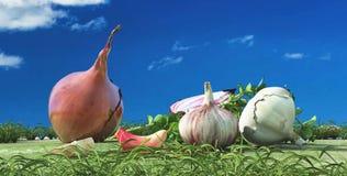Illustration of vegetables Stock Photo